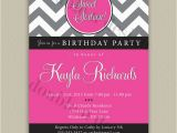 Free Printable Sweet 16 Birthday Party Invitations 9 Best Images Of Free Printable Invitations Chevron Sweet