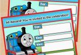 Free Printable Thomas the Train Birthday Invitations 9 Train Birthday Invitations for Kid Free Printable