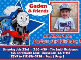 Free Printable Thomas the Train Birthday Invitations attractive Thomas the Train Birthday Invitation Ideas