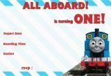 Free Printable Thomas the Train Birthday Invitations Thomas and the Train Birthday Invitations Bagvania Free