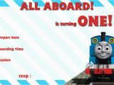 Free Printable Thomas the Train Birthday Invitations Thomas and the Train Birthday Invitations Bagvania Free