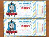 Free Printable Thomas the Train Birthday Invitations Thomas the Engine Invitation Editable