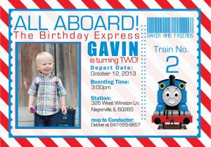 Free Printable Thomas the Train Birthday Invitations Thomas the Train Invitations Ideas Bagvania Free