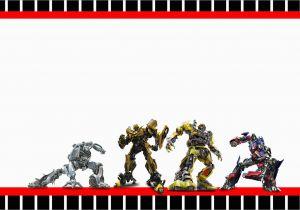 Free Printable Transformer Birthday Invitations Transformers Oh My Fiesta