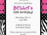 Free Printable Zebra Print Birthday Invitations Zebra Birthday Invitations Template Best Template Collection