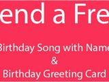 Free Singing Birthday Cards with Names Personalized Happy Birthday song and Card Birthday song
