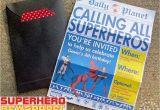 Free Superhero Birthday Invitations Superhero Newspaper Birthday Invitation the Scrap Shoppe