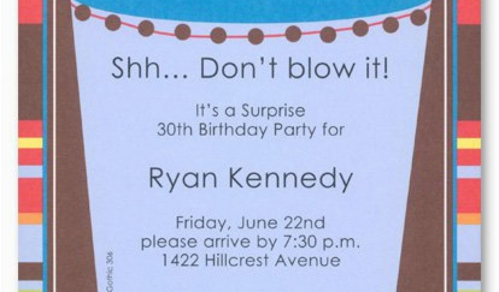 Free Surprise Birthday Party Invitations Printable 50th