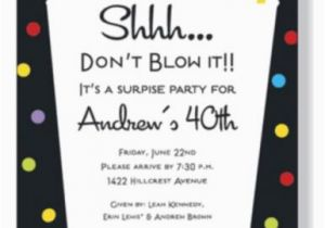 Free Surprise Birthday Party Invitations Wording for Surprise Birthday Party Invitations Free