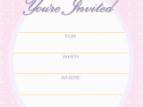 Free Templates for Invitations Birthday Free Printable Golden Unicorn Birthday Invitation Template