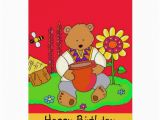 Free Ukrainian Birthday Cards Happy Birthday Honey Bear Cards