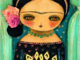 Frida Kahlo Birthday Card before the Day Ends Happy Birthday Frida Kahlo
