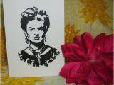 Frida Kahlo Birthday Card Frida Kahlo Greeting Card