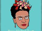 Frida Kahlo Birthday Card Frida Kahlo Greeting Cards Redbubble