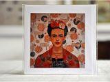 Frida Kahlo Birthday Card Homage to Frida Frida Kahlo Greeting Card with Envelope