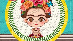 Frida Kahlo Birthday Invitations Frida Kahlo Invitations Frida Kahlo Birthday Invitations