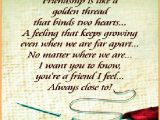 Friendship Verses for Birthday Cards Friendship Quotes Greeting Card Quotesgram