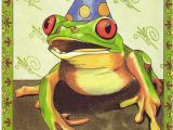Frog Birthday Cards Free 17 Best Images About Frog Holiday Pics Etc On Pinterest