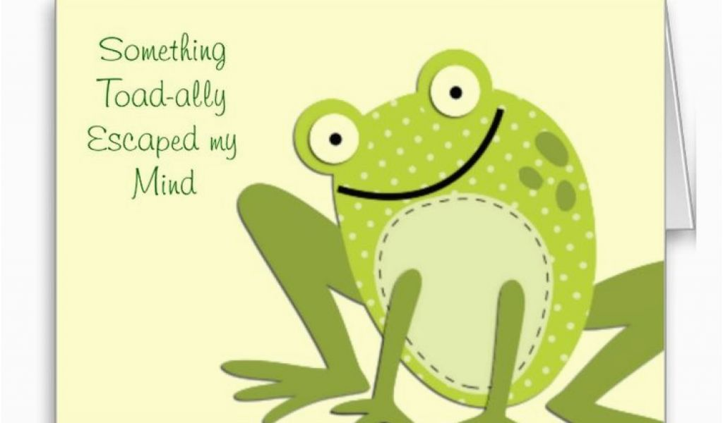 Download By SizeHandphone Tablet Desktop Original Size Back To Frog Birthday Cards Free