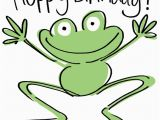 Frog Birthday Cards Free Happy Birthday Frog Cards Galore