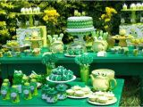 Frog Birthday Decorations 2nd Birthday Party themes for the Best Memories for