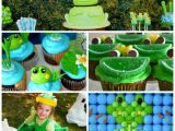 Frog Birthday Decorations Fun Frog Parties Marshmallow Snowman Cupcakes and Free