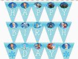 Frozen 2 Happy Birthday Banner Frozen Party Banner Birthday Girls Wikii