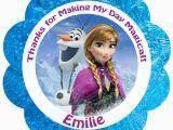 Frozen Birthday Invitations Walmart Disney Frozen Gift Tags Disney Frozen Movie Birthday
