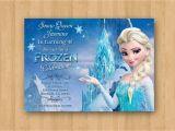 Frozen Birthday Invitations Walmart Frozen Anna Elsa Movie Birthday Party Personalized Invitation