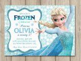 Frozen Birthday Invitations Walmart Frozen Birthday Invitation Elsa Invitation Girl Frozen