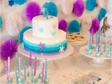 Frozen Decorations for Birthday Party Kara 39 S Party Ideas Vibrant Frozen Birthday Party Kara 39 S