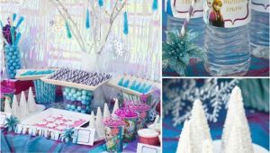Frozen themed Birthday Decorations 27 Easy Frozen Birthday Party Ideas for An Unforgettable