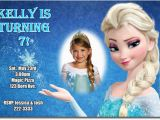 Frozen themed Birthday Invitation Cards Elsa Frozen Birthday Party Invitation Ideas Bagvania