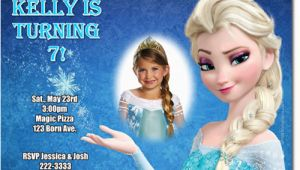 Frozen themed Birthday Invitation Cards Elsa Frozen Birthday Party Invitation Ideas Bagvania