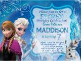 Frozen themed Birthday Invitation Cards Frozen Invitation Birthday Card Inspiration Ebookzdb Com