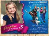 Frozen themed Birthday Invitations 11 Frozen Invitation Template Free Sample Example