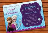 Frozen themed Birthday Invitations Frozen themed Invitation 5×7 Printable Digital File