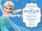 Frozen themed Birthday Party Invitations Elsa Frozen Birthday Party Invitation Ideas Bagvania