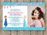 Frozen themed Birthday Party Invitations Frozen themed Photo Personalised Birthday Invitations