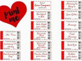 Frugal Birthday Gifts for Husband Free Printable Love Coupons the Perfect Gift Gift Love