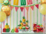 Fruit Decoration for Birthday 23 Tutti Frutti themed Birthday Party Ideas Pretty My