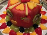 Fruit Decoration for Birthday 48 Best Fruit Only Cakes Images On Pinterest Fruit and