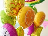 Fruit Decoration for Birthday Cute and Colorful Tutti Frutti Birthday Party Project