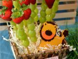 Fruit Decoration for Birthday Jungle Safari Birthday Party
