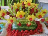 Fruit Decoration for Birthday Luau Party Homemade Decorations Home Party theme Ideas