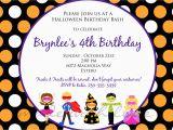 Fun Birthday Party Invitation Wording Kids Birthday Party Invitation Wording Bagvania Free