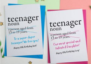 Funny 13th Birthday Cards 13th Birthday Card Personalised by A is for Alphabet