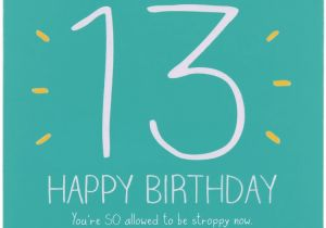 Funny 13th Birthday Cards Funny Quotes Happy 13th Birthday Quotesgram
