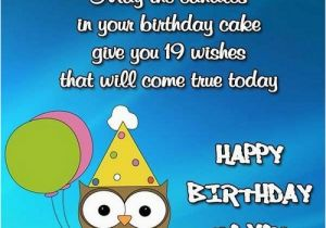 Funny 19th Birthday Cards Happy Quotes Wishesgreeting