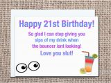 Funny 21 Year Old Birthday Cards Funny 21 Year Old Birthday Card 21st Birthday by Pixelpreppers